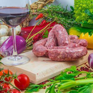 Salsiccia fresca di maiale