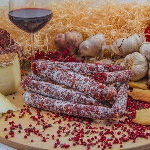 Salsiccia secca piccante